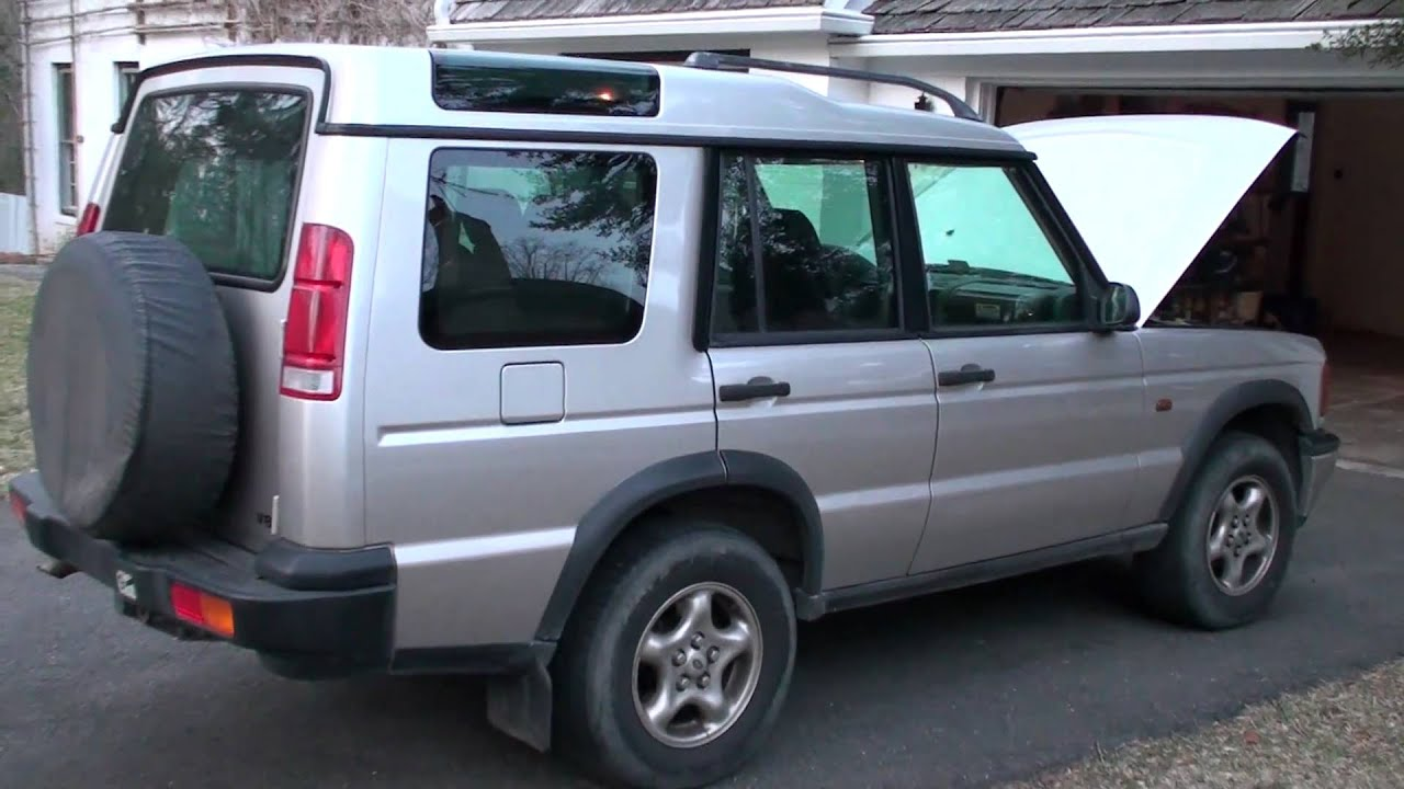 2000 Land Rover Discovery II Leather Interior V8 engine running
