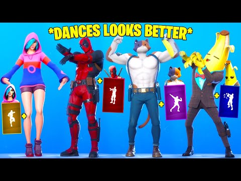 Top 50 Fortnite Dances & Emotes Looks Better With These Skins [Season 2 Chapter 2]