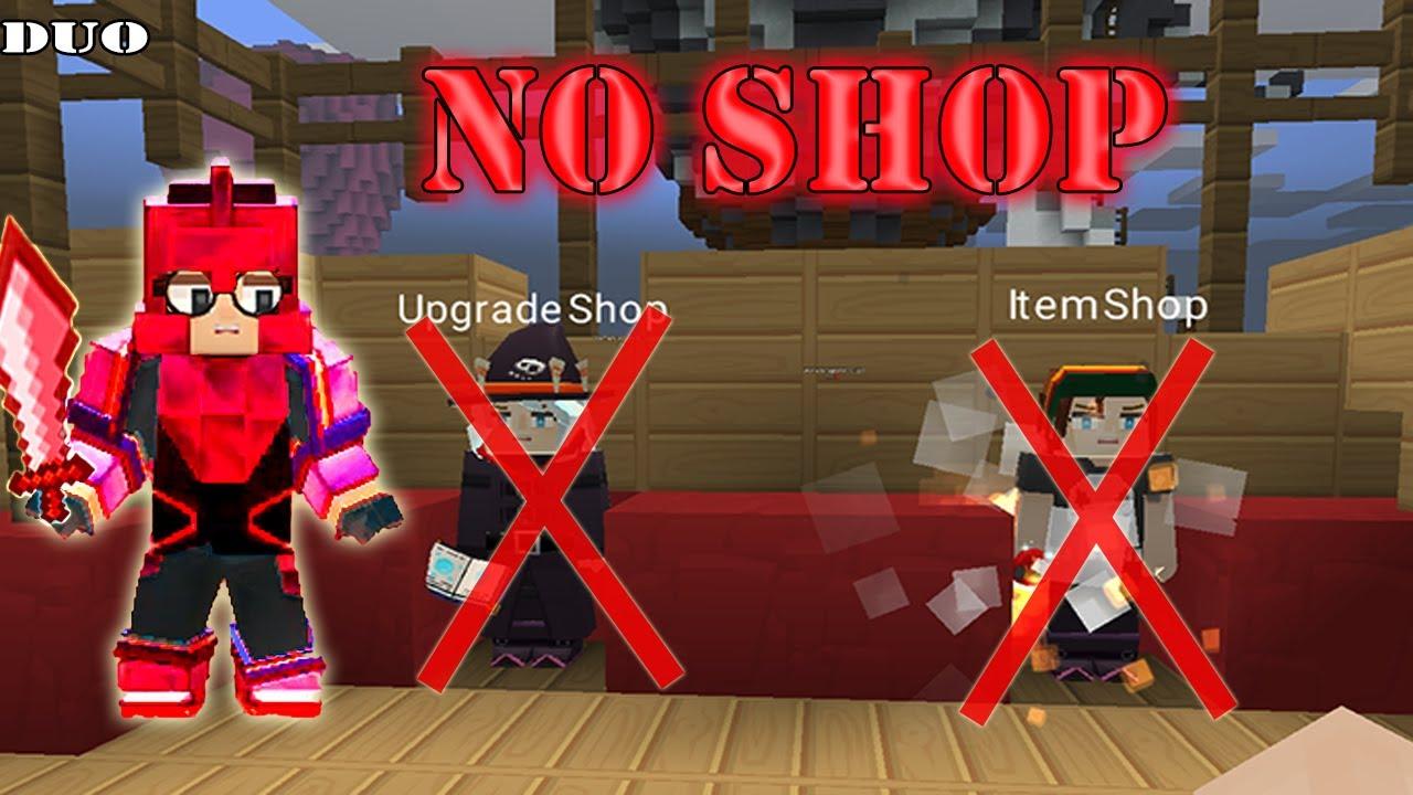 NO SHOP Challenge In DUO Bed Wars | Blockman Go Gameplay (Android , iOS)