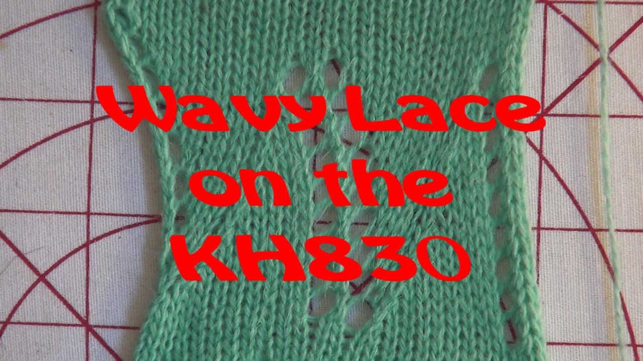 Wavy lace done an the kh830 punch card knitting machine youtube wavy lace done an the kh830 punch card knitting machine bankloansurffo Images