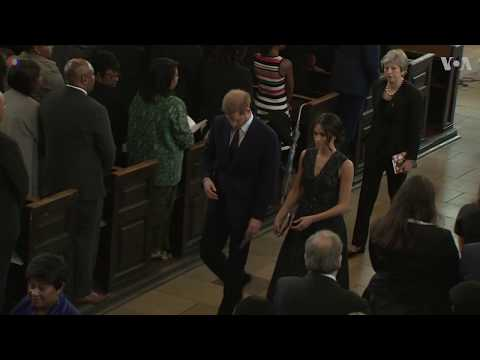 Prince Harry, Meghan Attend Memorial Service for Stephen Lawrence