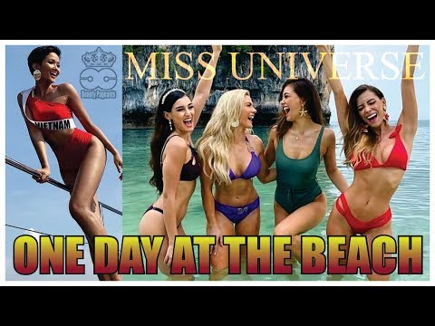 Miss Universe 2018 - One day at The Beach - SWIMSUIT EXCLUSIVE IMAGES