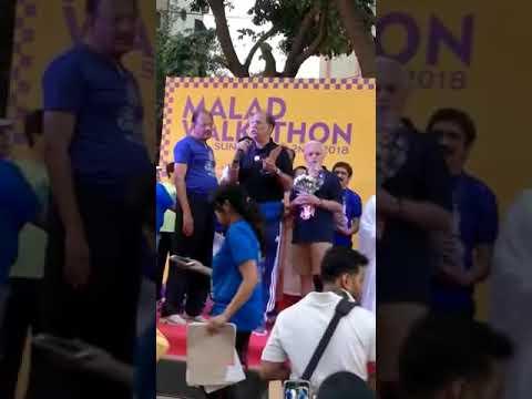 Short Message On Organ Donation Awareness At Malad Walkathon 2018 Where 3000 Delegate Dr Anil Suchak