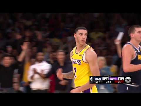 Best Plays From The Lakers Fourth-Quarter Comeback | October 25, 2018