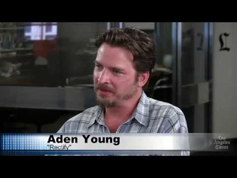 'Rectify's' Aden Young with Times' Glenn Whipp