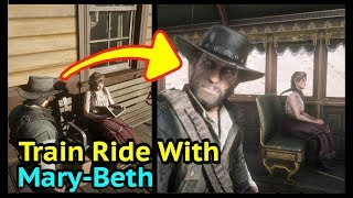 Gambar cover John and Mary-Beth Endgame Train Ride in Red Dead Redemption 2 (RDR2): Mary-Beth Gaskill Cutscene