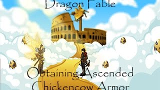 Dragon Fable Obtaining Ascended Chickencow Armor