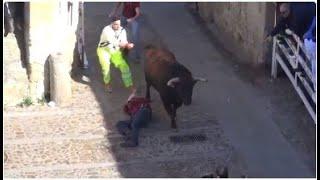 Cogida encierro Ciudad Rodrigo 2017
