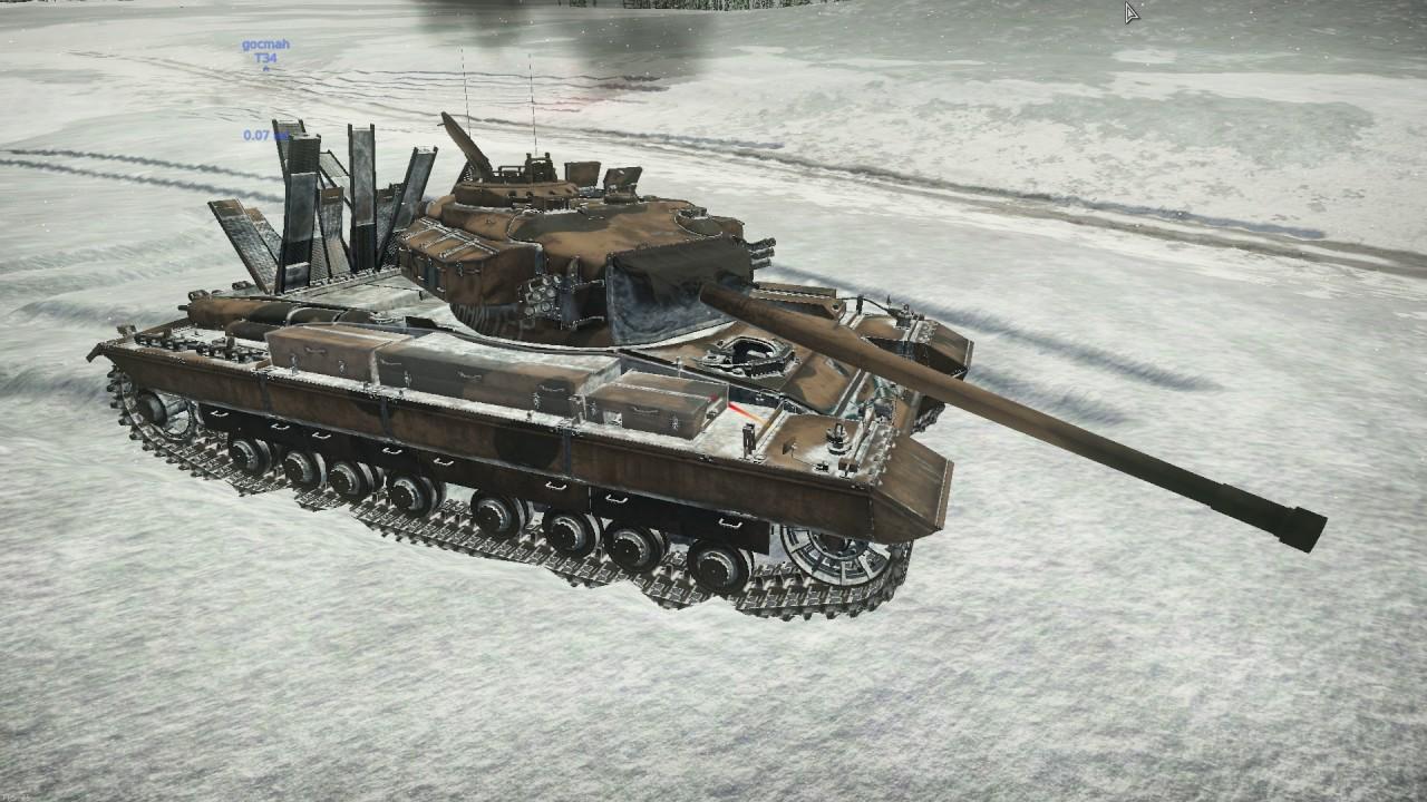пулеметы на танках в war thunder