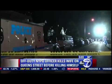 NYPD Officer Smikle shot killed NYPD wife Lana Morris and himself