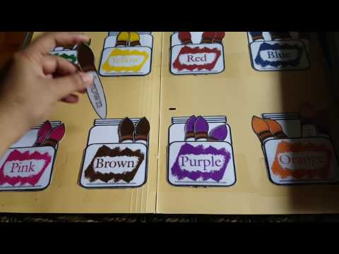 File Folder Games For Toddlers And Preschoolers