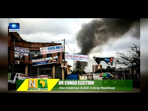 Fire Destroys 8,000 Voting Machines In DR Congo, Days To Election |Network Africa|