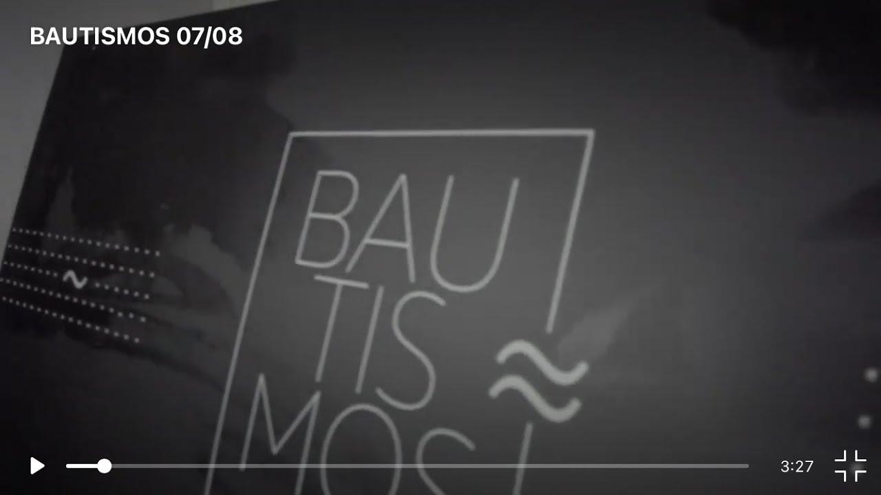 BAUTISMO Agosto 2021
