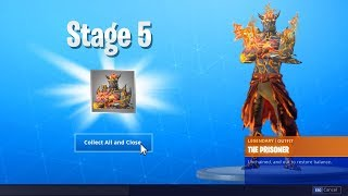 THE PRISONER SKIN STAGE 5 KEY LOCATION in Fortnite! How To Unlock ALL Stages of Prisoner! (Fortnite)