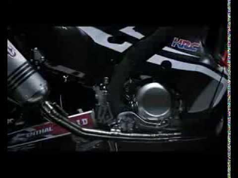 Honda presenta el modelo del Rally Dakar: la nueva CRF RALLY