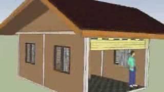 3D Row House Animation
