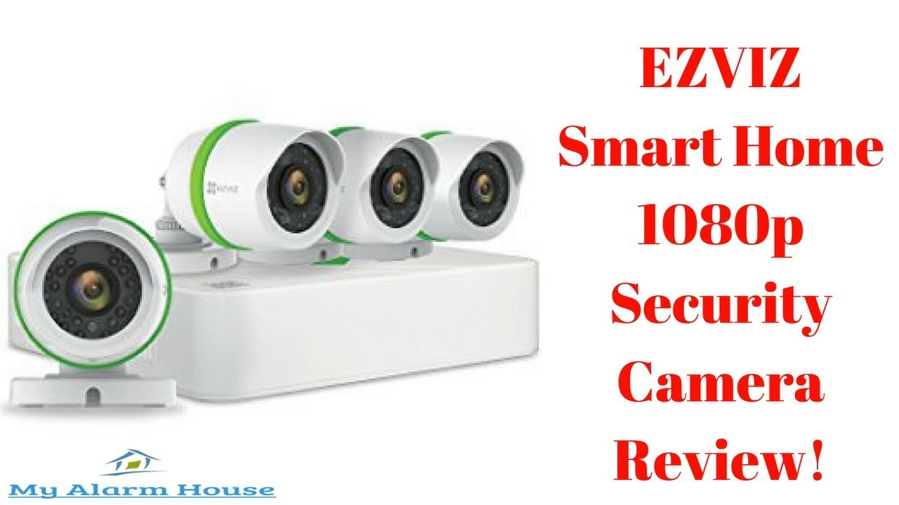 900cb944461f EZVIZ Smart Home 1080p Security Camera Review! - YouTube