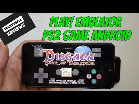 Playable PS2 Game On Android Smartphone Play! Emulator Test Disgaea: Hour Of Darkness
