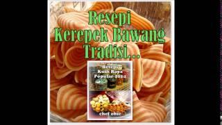Resepi Biskut Raya Popular 2014 Chef Obie