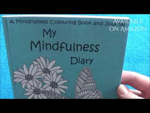 Brand New Adult Colouring Book And Journal 2017 My Mindfulness Diary Meditation Inspiration