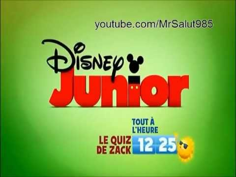 Disney Junior Continuity France 2011 Youtube