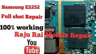 How to repair SUMSUNG E 2252 FULL short