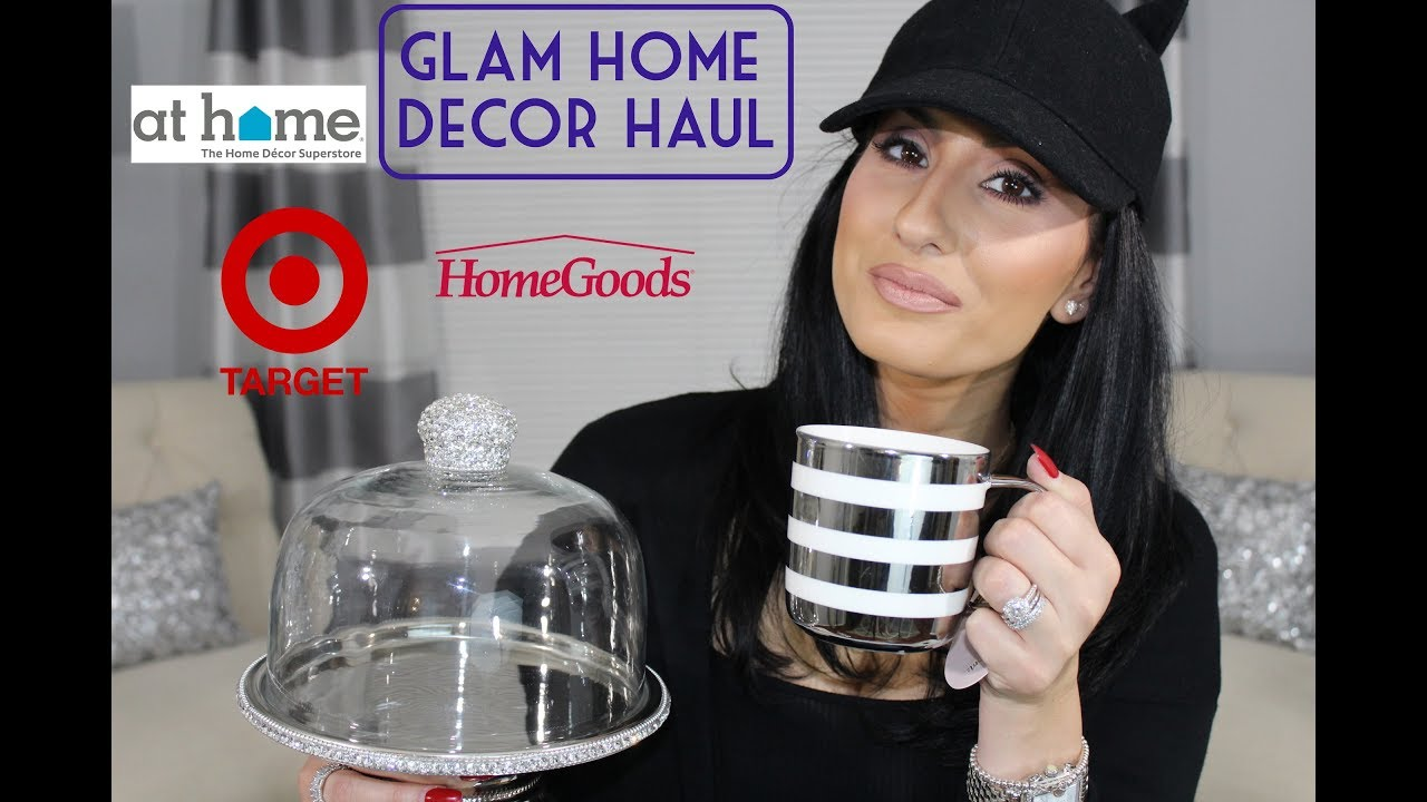 Glam Home Decor Haul Homegoods Target At Home Doovi