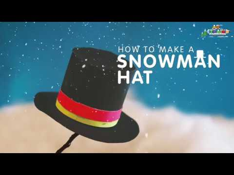 How to make the Snowman's Hat