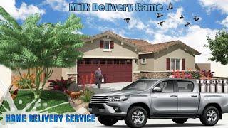 Milk Van Delivery Simulator 2020 | Android Gameplay | Hashimi gaming screenshot 1
