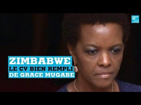 "Zimbabwe : Grace Mugabe, une""First Lady"" au parfum de scandale"