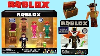 Roblox Toys Neverland Lagoon & Vorlias, Codes, Unboxing & Toy Review, Series 3, Celebrity, Gold