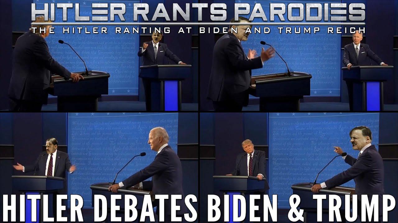 Hitler debates Biden & Trump