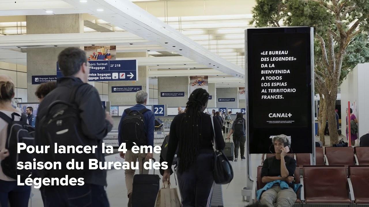 Le bureau des légendes jcdecaux airport paris youtube