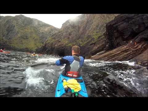 Sea Kayaking Ireland's Atlantic North West Coast.