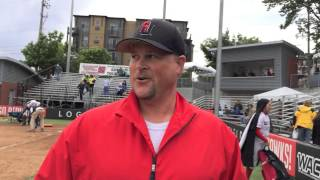 Dan Powers, Seattle U Head Softball Coach Postgame WAC Softball Tournament  (5-9-14 vs. Bakersfield)
