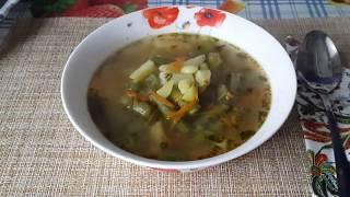 Суп с фасолью и картофелем