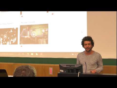 """Vortrag """"Geschichte & Ästhetik des Techno"""" von Dominik Ukolov am 22.11.2017 Universität Leipzig"""