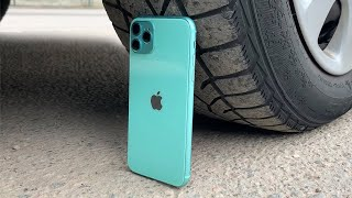 EXPERIMENT: IPHONE 11 VS CAR