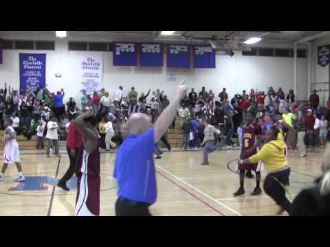 Karl Barkley North Mecklenburg High School Basketball 24hrs apart!