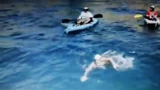 DANIEL DOUGLAS DI PIERRO L'ARRIVO Traversata a nuoto da Catalina a Los Angeles