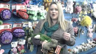Fluff and Tuff Dog Toys