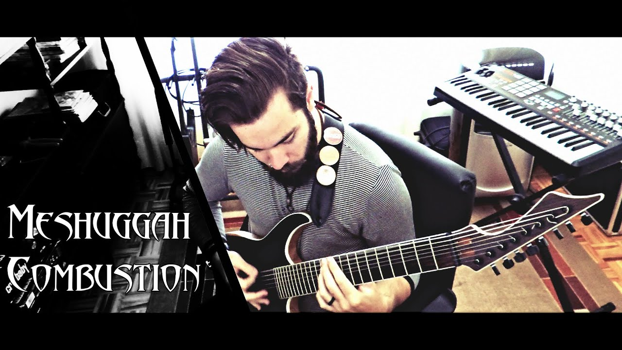 Meshuggah Combustion Guitar Cover Hd Youtube