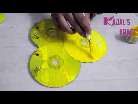 DIY CD Keychain Holder !