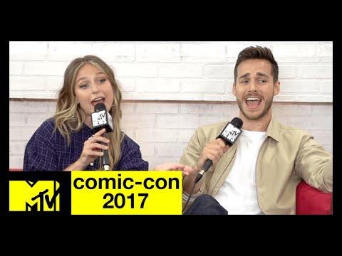 The CW's 'Supergirl' Cast Musical Recap of Season 2 | Comic-Con 2017 | MTV
