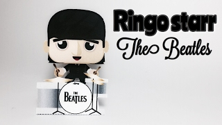 Ringo Starr The Beatles Paper Crafts tutorial !