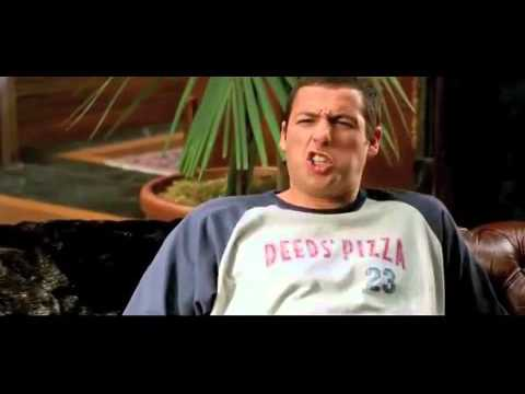 Adam Sandler Yells Constantly