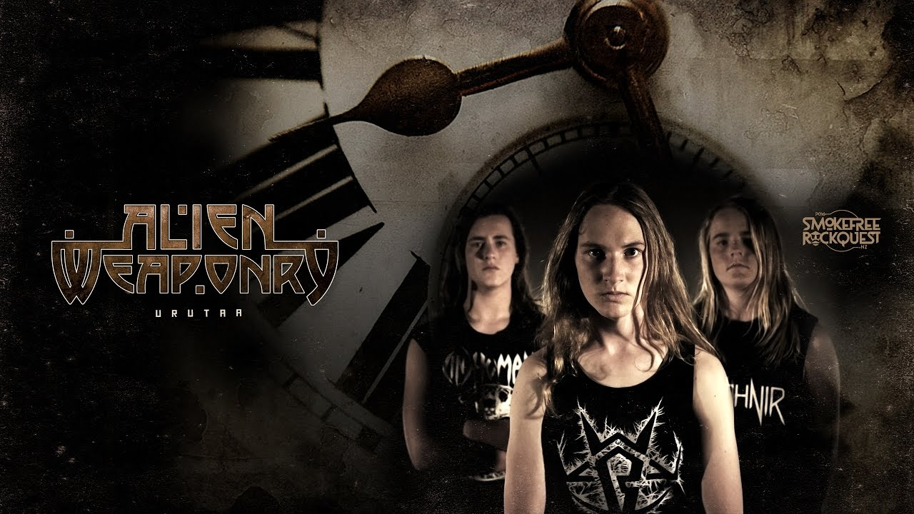 Alien Weaponry - Urutaa (Official Music Video) - Music video for the song Urutaa, by New Zealand rock band Alien Weaponry.