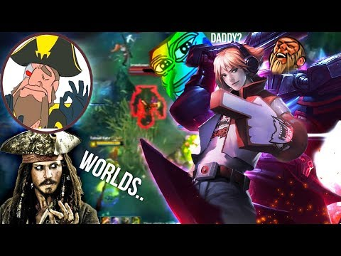 Tobias Fate - Thoughts on Worlds.. Daddy is COMING IN FROM BEHIND | League of Legends