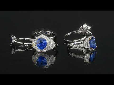 sapphire and diamond rings made by mike nekta group 1