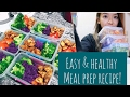 EASY & HEALTHY MEAL PREP RECIPE 💕 | WEIGHT LOSS